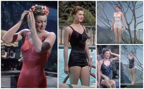 Thrill of a Romance Esther Williams bathing suits