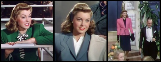 Thrill of a Romance Esther Williams date suits