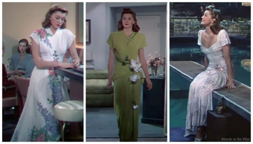 Thrill of a Romance Esther Williams evening gowns