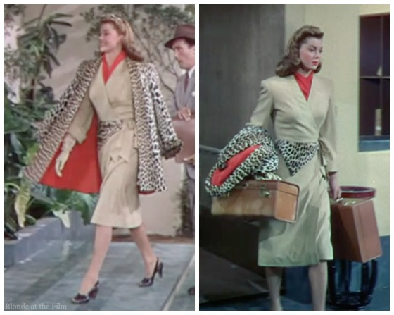 Thrill of a Romance Esther Williams leopard coat