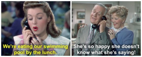 Thrill of a Romance Esther Williams phone convo