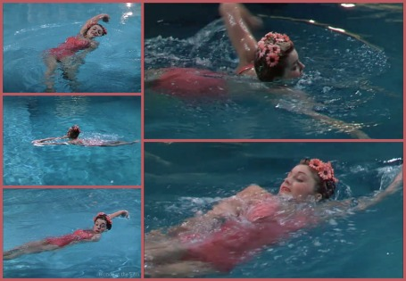 Thrill of a Romance Esther Williams pink suit 2