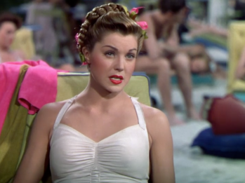 Thrill of a Romance Esther Williams white suit