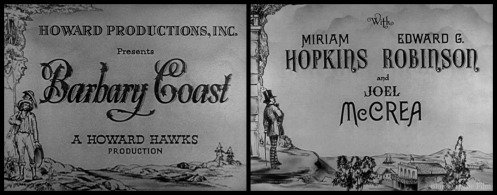 Barbary Coast titles