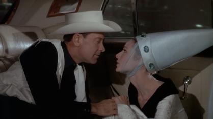 Paris When It Sizzles Hepburn Holden cab