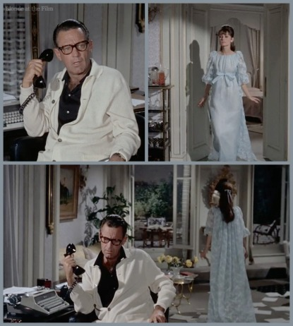 Paris When It Sizzles Hepburn Holden nightgown