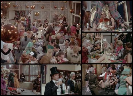 Paris When It Sizzles Hepburn Holden party