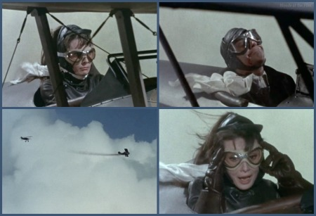Paris When It Sizzles Hepburn Holden plane