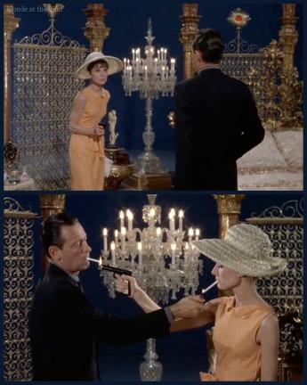 Paris When It Sizzles Hepburn Holden studio gun 2