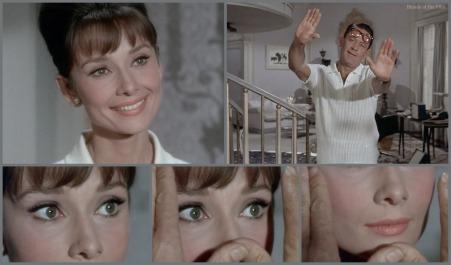 Paris When It Sizzles Hepburn Holden that face