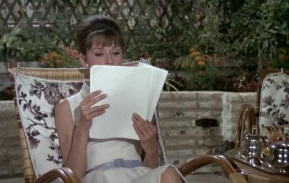 Paris When It Sizzles Hepburn script