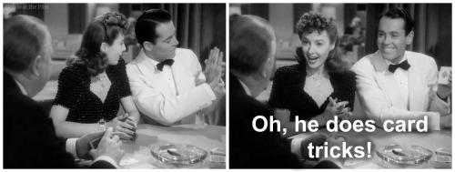 TheLadyEve Stanwyck Fonda Coburn card tricks