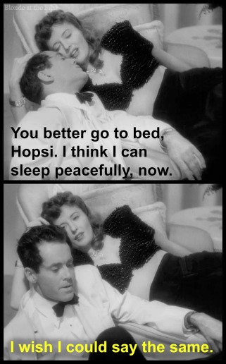 TheLadyEve Stanwyck Fonda go to bed