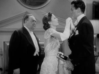 TheLadyEve Stanwyck Fonda wiping chin
