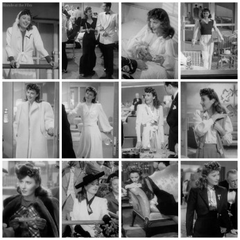 TheLadyEve Stanwyck Jean outfits all