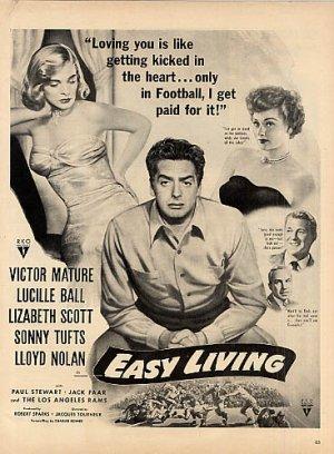 via: http://en.wikipedia.org/wiki/Easy_Living_(1949_film)