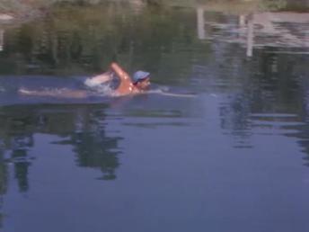 Dangerous When Wet Williams pond