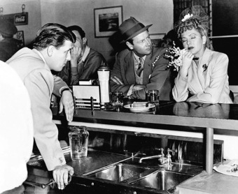 George Stevens directing Joel McCrea and Jean Arthur via: http://acertaincinema.com/media-tags/george-stevens/