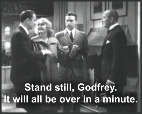 A judge marries the couple in My Man Godfrey