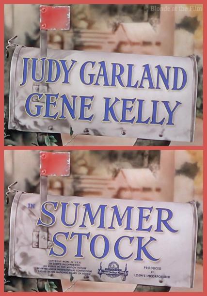 Summer Stock title