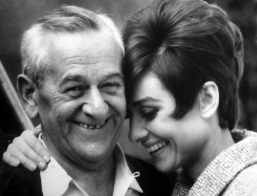 William Wyler and Audrey Hepburn via: http://acertaincinema.com/media-tags/how-to-steal-a-million/