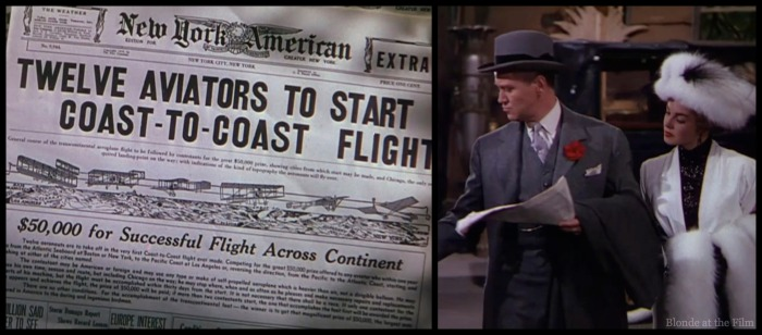 Million Dollar Mermaid flight newspaper.jpg