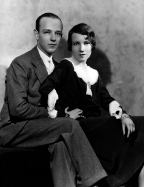Fred with his sister Adele via: http://doctormacro.com/Movie%20Star%20Pages/ Astaire,%20Fred-Annex.htm