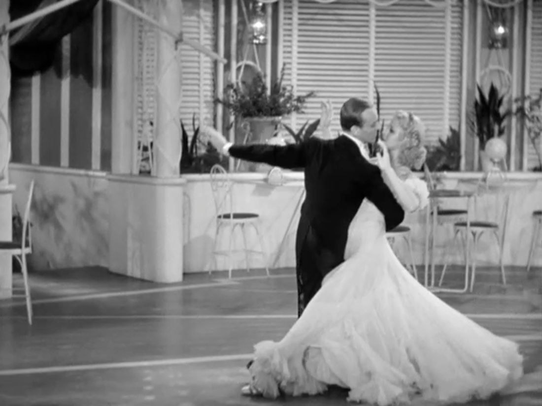 Gay Divorcee Astaire Rogers dance
