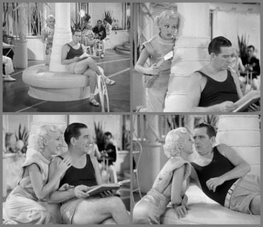 Grable as a featured performer in The Gay Divorcee (1934) with Edward Everett Horton