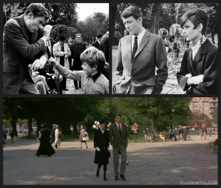 Top left: http://onthesetwithaudreyhepburn.tumblr.com/post/58044193470/how-to-steal-a-million-1966-did-you-notice Top right: http://audreykathleenhepburn.tumblr.com/post/64610138199