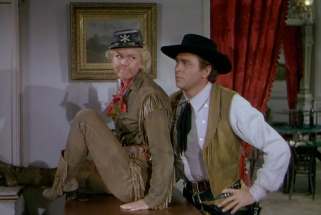 Calamity Jane (1953) – The Blonde at the Film