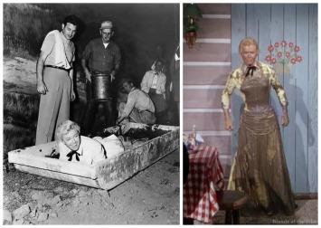 Left via: via: http://classiccinemaimages.com/doris-day/doris-day-on-the-set-of-calamity-jane-1953/