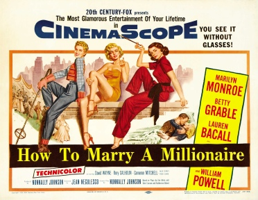 via: http://www.doctormacro.com/Images/Posters/H/Poster%20-%20How%20to%20Marry%20a%20Millionaire_02.jpg