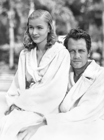 via: http://deforest.tumblr.com/post/64438663466/joel-mccrea-and-veronica-lake-on-the-set-of