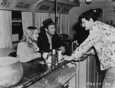 Preston Sturges directs Veronica Lake and Joel McCrea in the diner scene. via: http://www.newstimes.com/news/slideshow/Must-Sees-Pre-1960-50244/photo-3554561.php