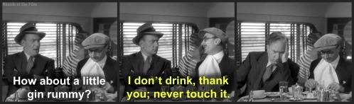 Sullivans Travels Demarest gin rummy