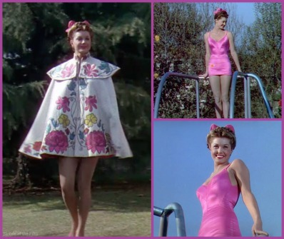 Bathing Beauty Williams pink suit
