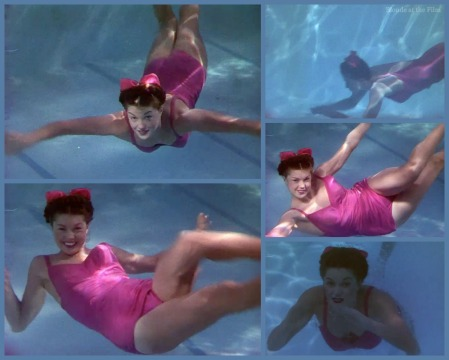 Bathing Beauty Williams underwater