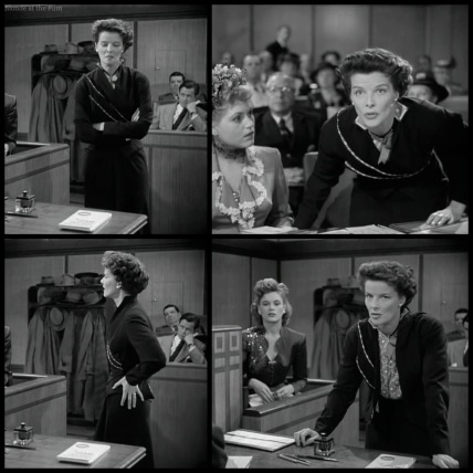 Adams Rib Hepburn court costume