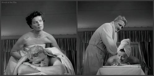 Adams Rib Hepburn Tracy massage