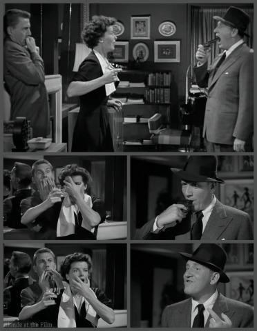 Adams Rib Hepburn Wayne Tracy gun 2