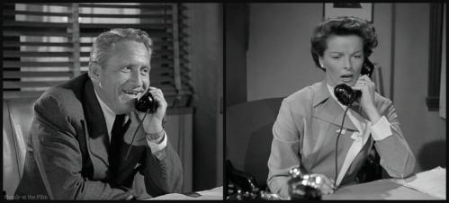 Adams Rib Tracy Hepburn phone