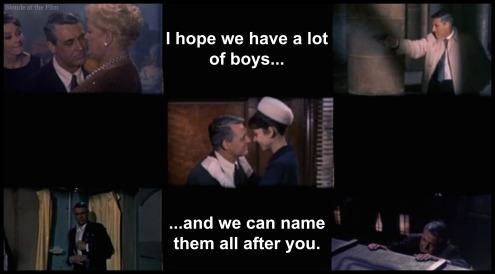 Charade Grant Hepburn ending