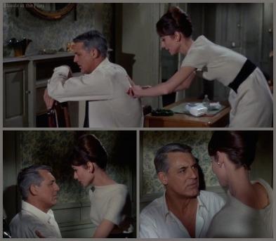 Charade Hepburn Grant bandage
