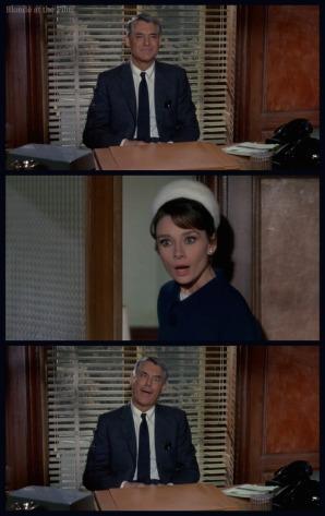 Charade Hepburn Grant ending