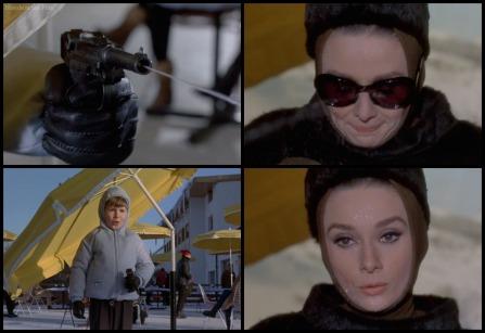 Charade Hepburn opening 2