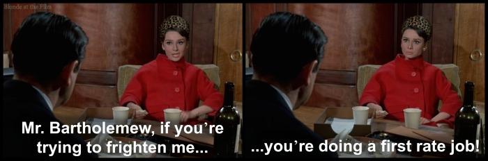 Charade Hepburn scare