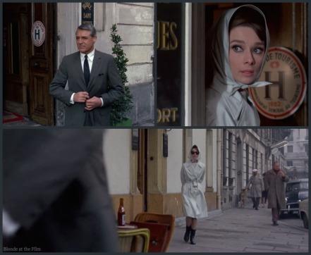 Charade Hepburn spy