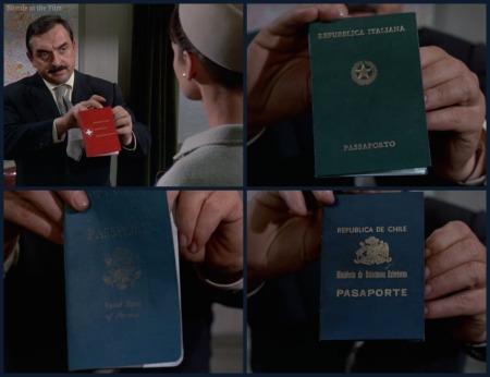 Charade Marin Hepburn passport 2