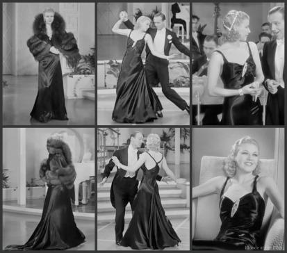 Roberta Rogers black gown